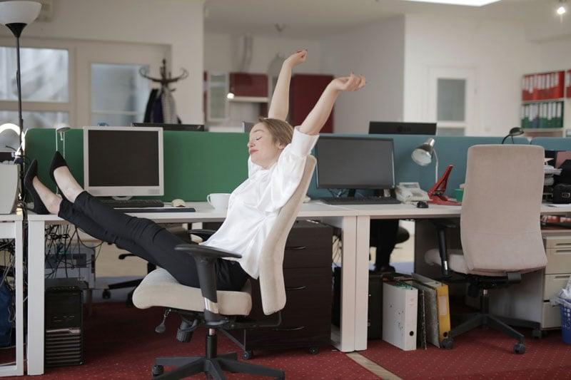 Flexible Dienstpläne ermöglichen Entspannung - auch in stressigen Berufen.