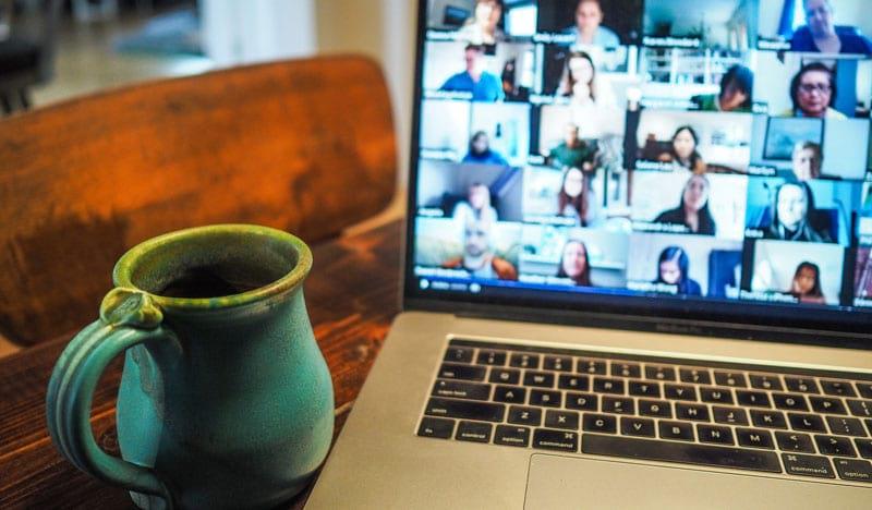 Videokonferenzen sind der Standard im Home Office